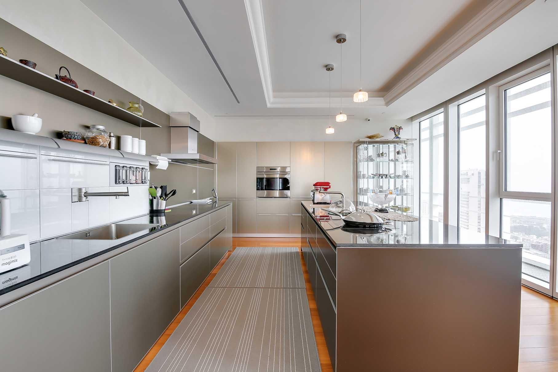 תאורה למטבח מודרני