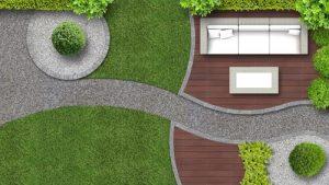 בניית שביל בגינה